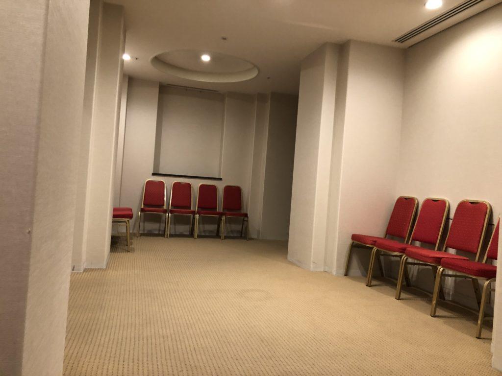 48階の廊下