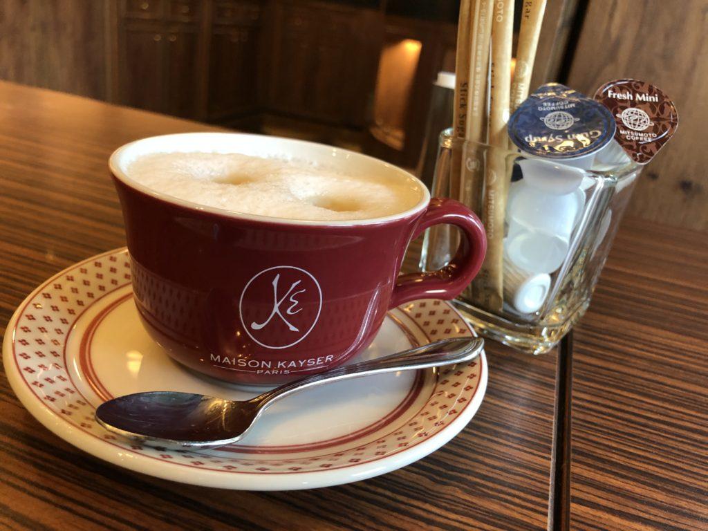 メゾンカイザーのコーヒー